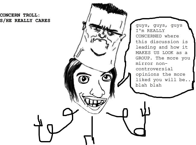 Feminist Concern Troll