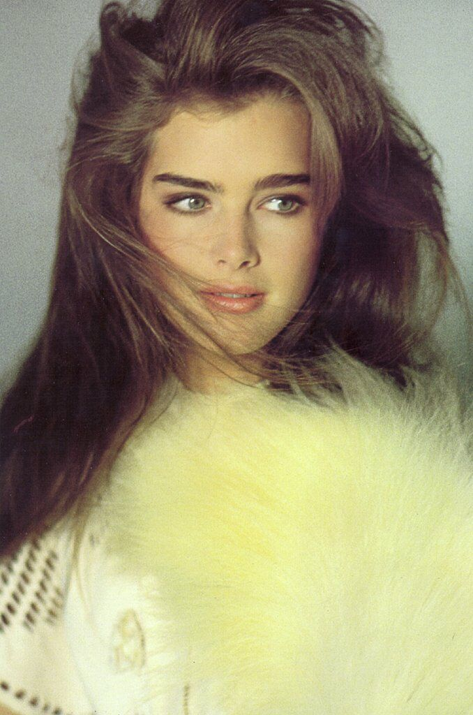 Brooke Shields 15 years old