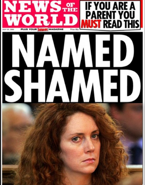 names and shamed rebekah brooks