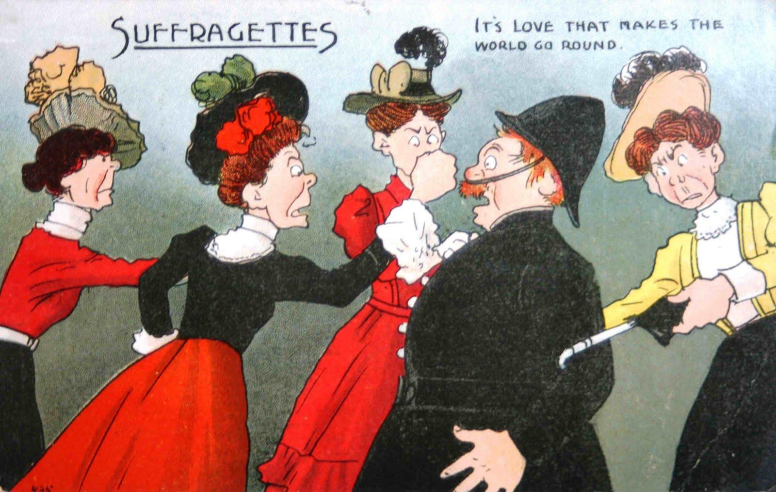 suffragettes terrorists