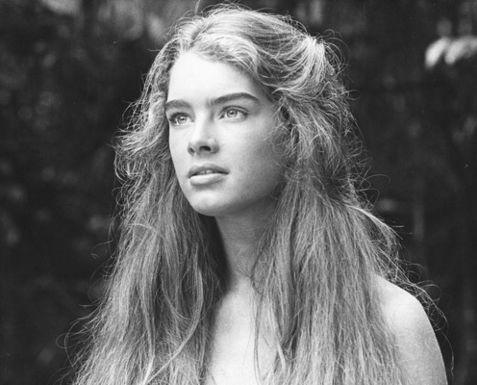 Brain bleach - 14 year old Brooke Shields