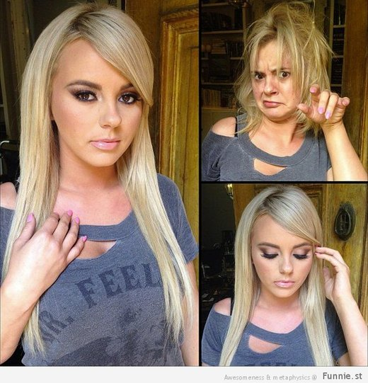 Bree Olson without makeup