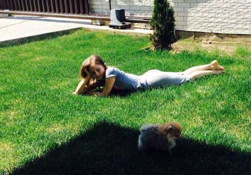 yulia-with-dog